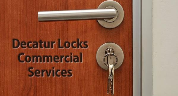 commercial locksmith installation in Decatur Georgia